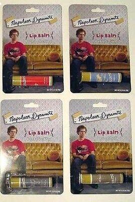 Napoleon Dynamite Lip Balm set of 4