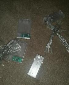 Battery operated lights