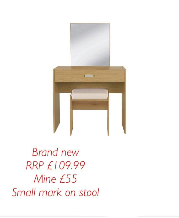 Brand new Capella dressing table