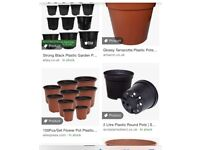 I'm looking for any plant pots similar to those in the photo