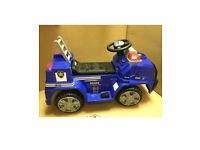 PAW Patrol Chase Police Cruiser 6v Battery Powered Ride On Car Never Used