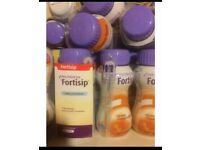 Fortisip NUTRICIA drinks £1 each if you buy the lot