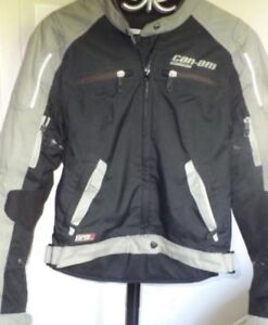 Manteau moto Can-Am comme NEUF
