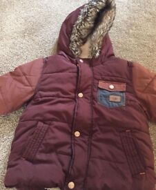 Boys winter coat from next size 1.5-2 years
