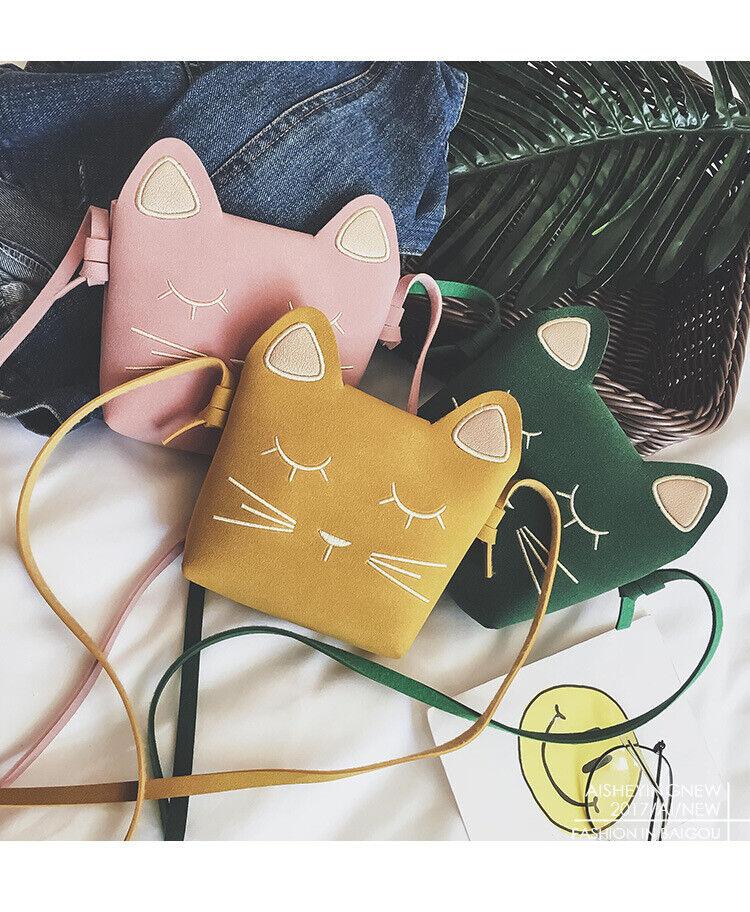 Mini Bags for Girls Messenger Bags Cat Gift Kids Wallets
