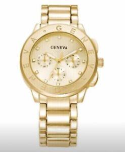 Geneva Gold Watch - New