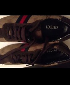 Men's Gucci trainers size 42 new