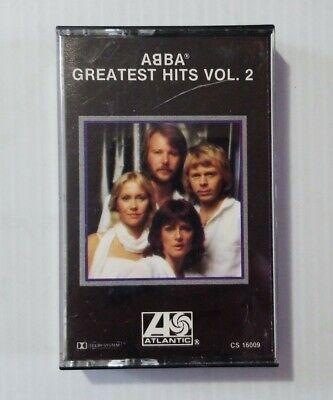"ABBA ""Greatest Hits Vol 2"" Audio Cassette Tape 1979 Atlantic Records CS 16009"