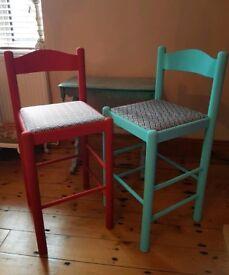 💖 Upcycled bar stools