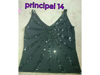 Party top size 14