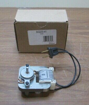 Broan Nutone Exhaust Fan Replacement Motor S02200-41 990721205b New Free Ship