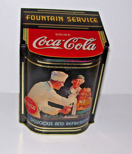 Coca-Cola-Coke-Flip-Top-Candy-Food-Tin-Container