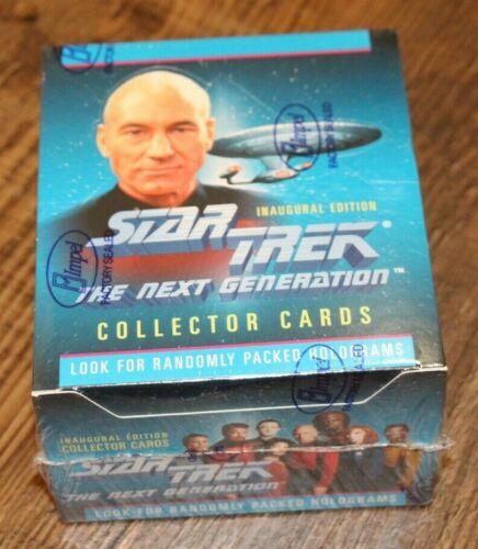 1992 SEALED IMPEL STAR TREK THE NEXT GENERATION TRADING CARDS - NEW TNG BOX