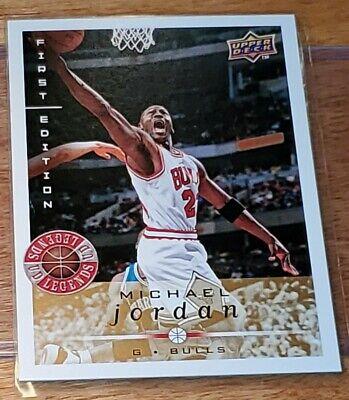 2008-09 Michael Jordan Upper Deck First Edition UD LEGENDS RARE GOLD EDITION