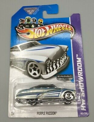 "NEW 2013 Hot Wheels - Purple Passion ""ZAMAC 015"" (HW Showroom 183/250)"