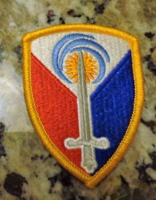 ARMY PATCH, 413TH SUPPORT BRIGADE, ONE RUN ONLY