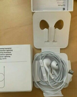Original Apple Lightning EarPods Headphones for iPhone X 7 8 Plus - Works Great