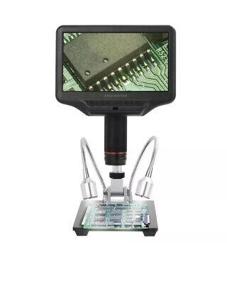 Andonstar Ad407 7 3d Digital Microscope 270x 1080p Multimedia Interface