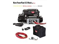 Warn power plant 9.5 winch and air compressor