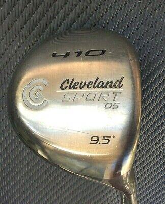 Cleveland Sport OS 410 Driver 9.5 Deg Stiff Graphite Shaft  44.5 in RH