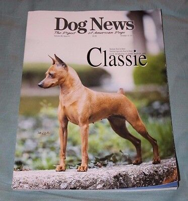 Dog News   The Digest Of American Dogs Oct 12  2012   Vol 28 Issue 41   Classie