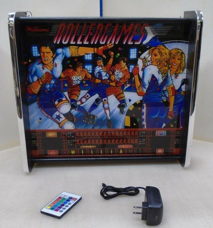 Williams Rollergames Pinball Head LED Display light box