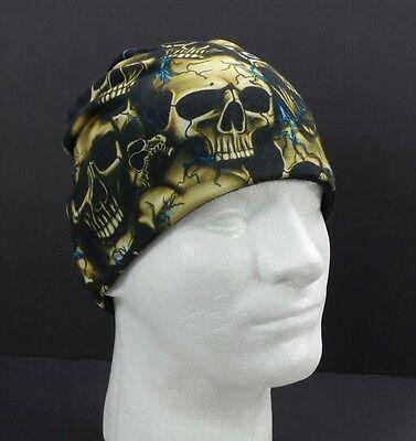 Beanie Hat Uprooted Skulls Fleece Lined Sublimation Skull Pile Stocking Hat Cap  Fleece Skull Cap Hat