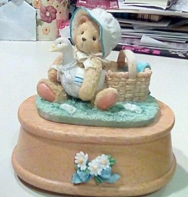 "Cherished Teddies ""Wind Beneath My Wings"" music box"