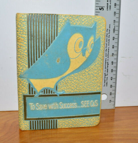 Vintage BOOK BANK Promotional Advertising Bankers Utilities Co. Citizens & South