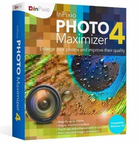 InPixio Photo Maximizer 4 Enlarge Photo Improve Quality - Instant Email Delivery