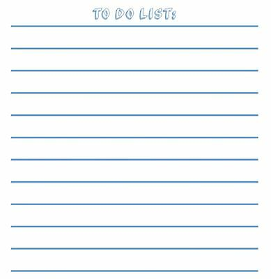 Magnetic Dry Erase Memo Sheets For Refrigerators Dry Erase Boards - To Do List