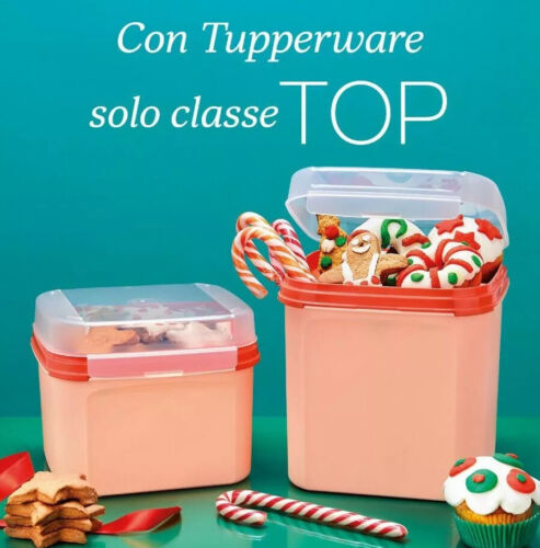 TUPPERRWARE 2 BISCOTTIERE TOP CLASS 2,4+4 Lotri