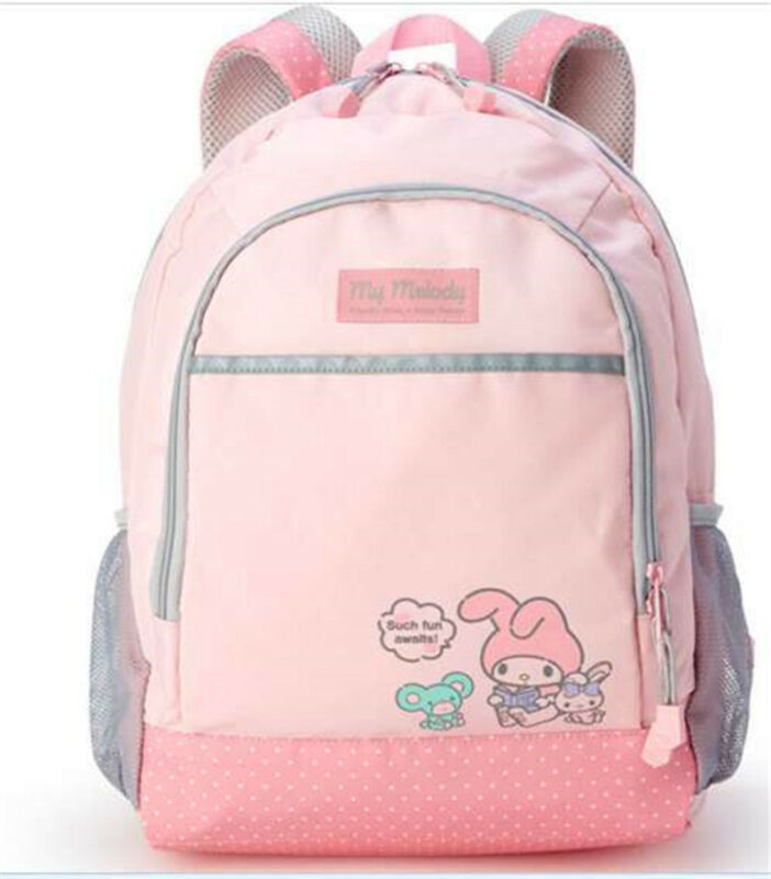 Student Girls Backpack My Melody Lolita Anime Shoulders Bag Holiday Gift Bag New