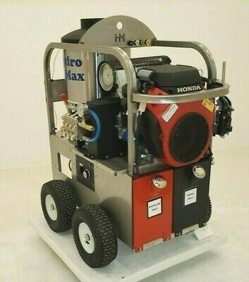 Hotcold Water Pressure Washer 5gpm4000psi-new- Stainless Steel Frame