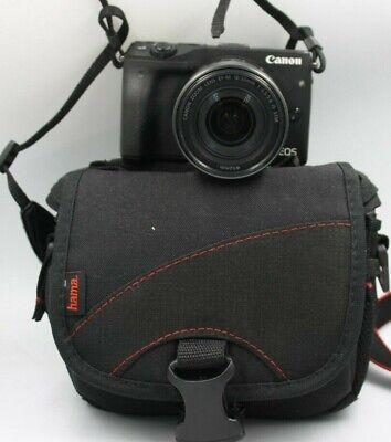 Fotocamera Canon EOS M3 mirrorless digitale + obiettivo 15-45 is stm + borsa
