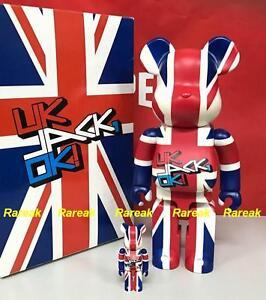 Medicom-2006-Be-rbrick-Colette-400-100-UK-Jack-OK-bearbrick-boxset-2pcs