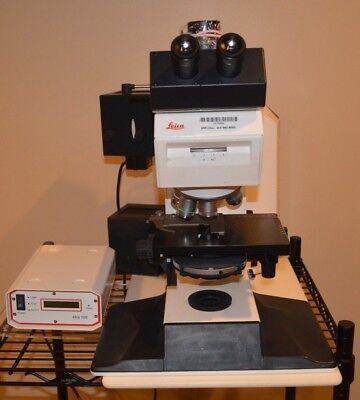 Leica Leitz Dmrb Microscope 301-307.010 6 Obj Lens 5x 10x 20x 40x 63x 100x