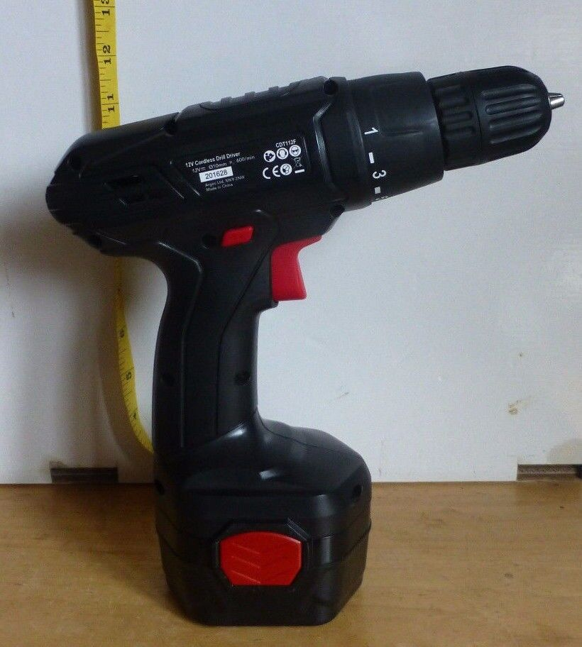 Brand New Argos 12v Cordless Drill . Have lost the Charger.