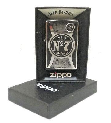 Jack Daniels Whisky Distillerties Old No.7 Brand Zippo Cigarette Lighter 29233