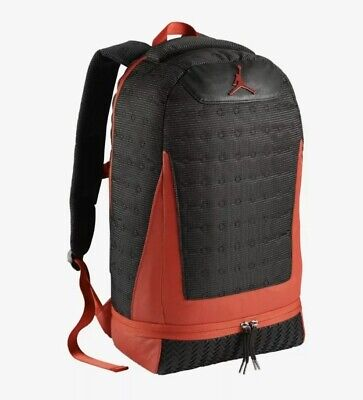Nike Air Jordan Retro 13 XIII Backpack Black True Red Varsity Bred (9A1898 KR5)
