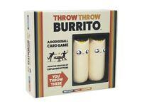 Throw burrito family board game brand new