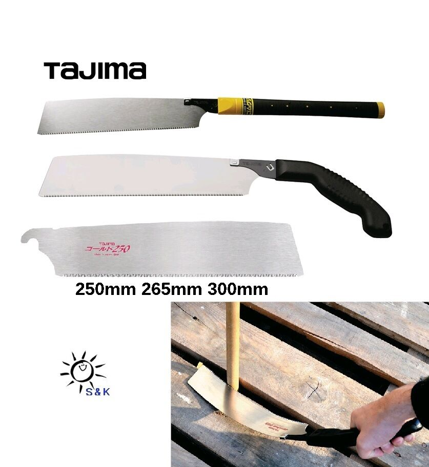 TAJIMA Japansäge / Feinzugsäge 440mm , 600mm - Ersatzblatt in 250 265 + 300 mm