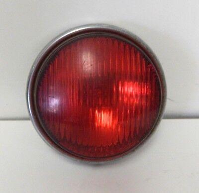 Vintage Harley Tomar Par 36e Strobe Sealed Beam Police Light Red