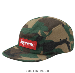 db52a883c26 Supreme Fw17 Camo Wool Camp Cap Green for sale online