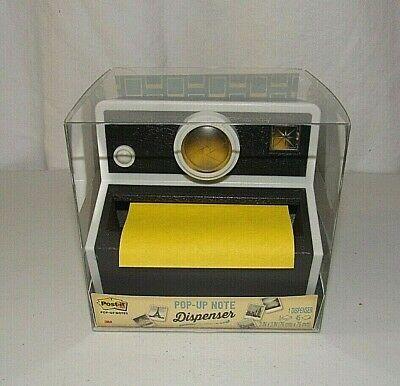 Post-it Pop-up Black White Sticky Note Camera Dispenser Size 3 X 3 Cam-330