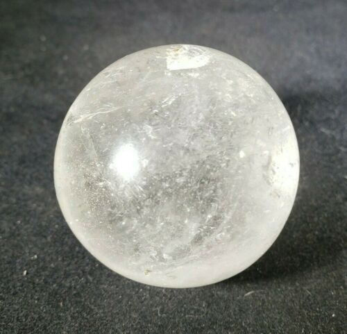 LARGE!!! CLEAR QUARTZ SPHERE NATURAL STONE HAND CARVED GEMSTONE SPHERE [38]