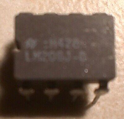 National Lm208j-8 Lm208 Lm308 Op Amp - Nos