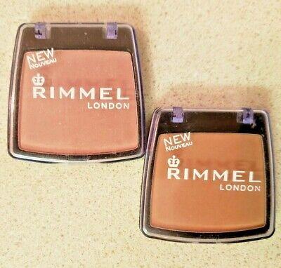Rimmel London Powder Blush 001 Santa Rose, 020 Spicy Nude (READ DESC)