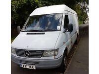 lwb merc sprinter van. with long MOT