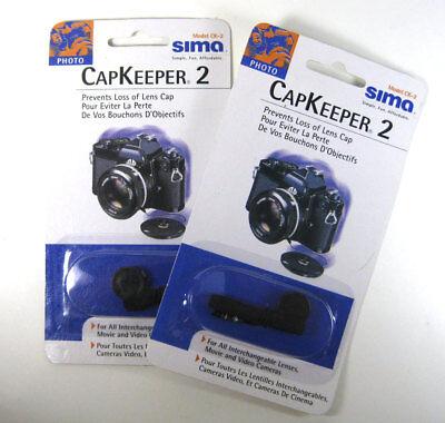 2 PACK Sima Capkeeper II for SLRs and Digital SLRs -  Model CK-2